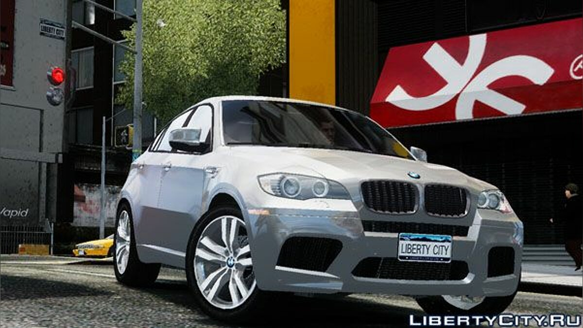 BMW X6 M by DesertFox v.1.0 для GTA 4