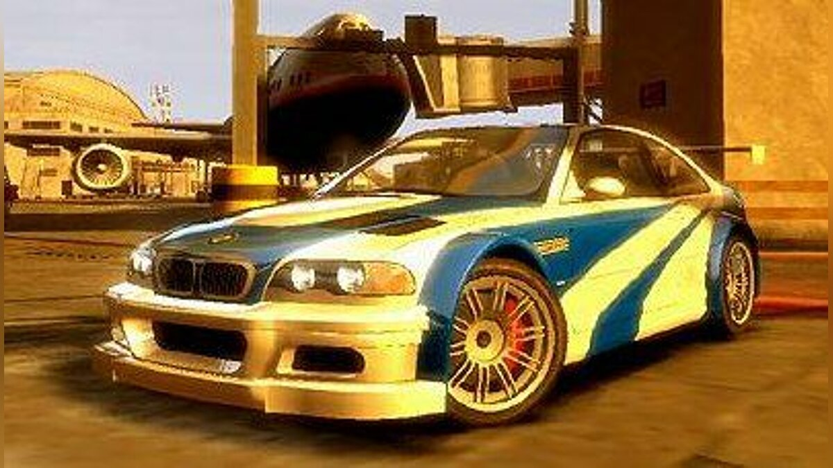 BMW M3 GTR (E46) NFS: Most Wanted для GTA 4