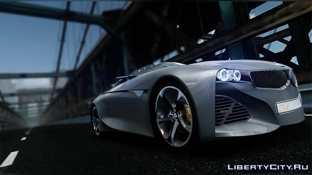 2011 BMW Vision Connected Drive Concept для GTA 4