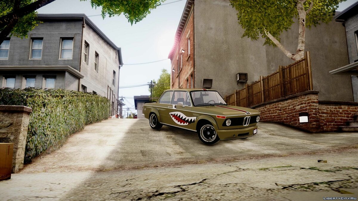 1973 BMW 2002 Turbo для GTA 4