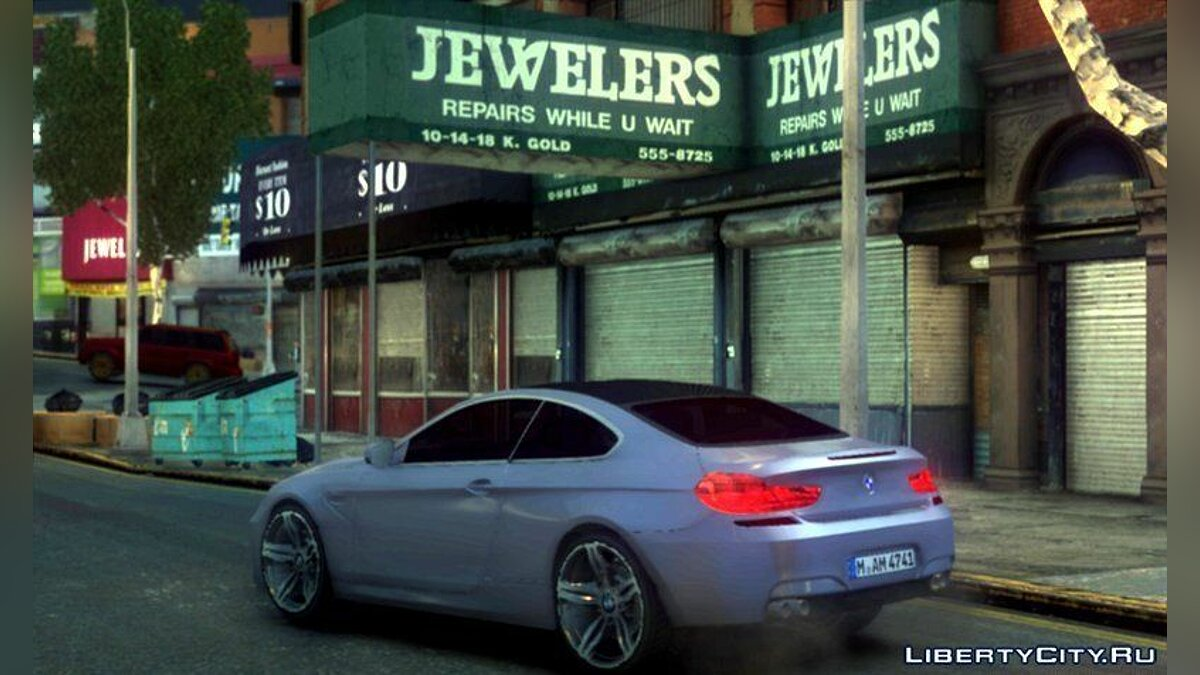 BMW M6 Coupe f12 для GTA 4