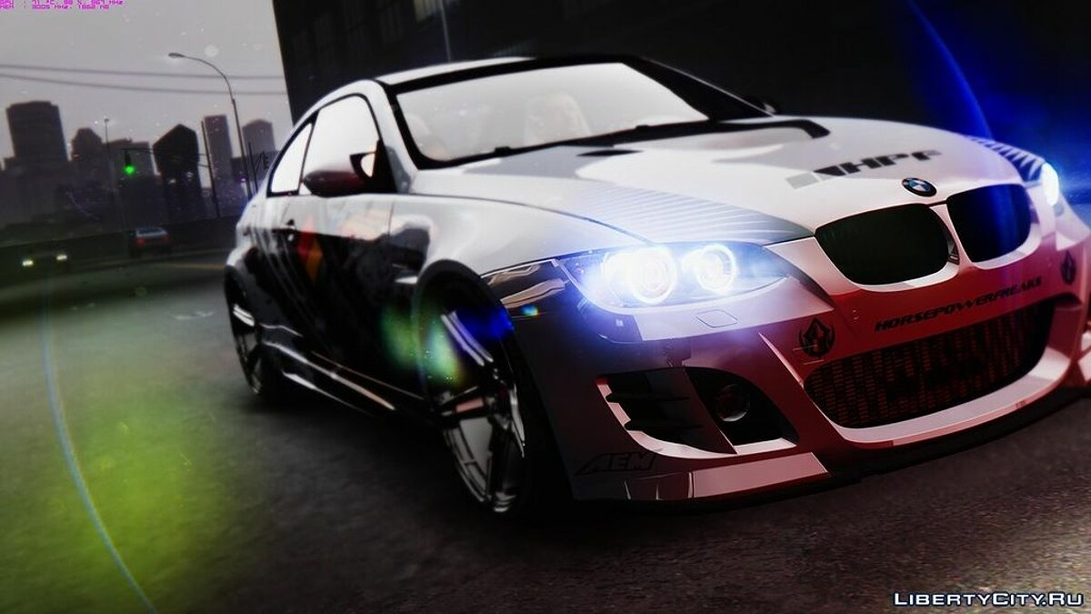 BMW M3 E92 GTS - Widebody для GTA 4 - скриншот #2