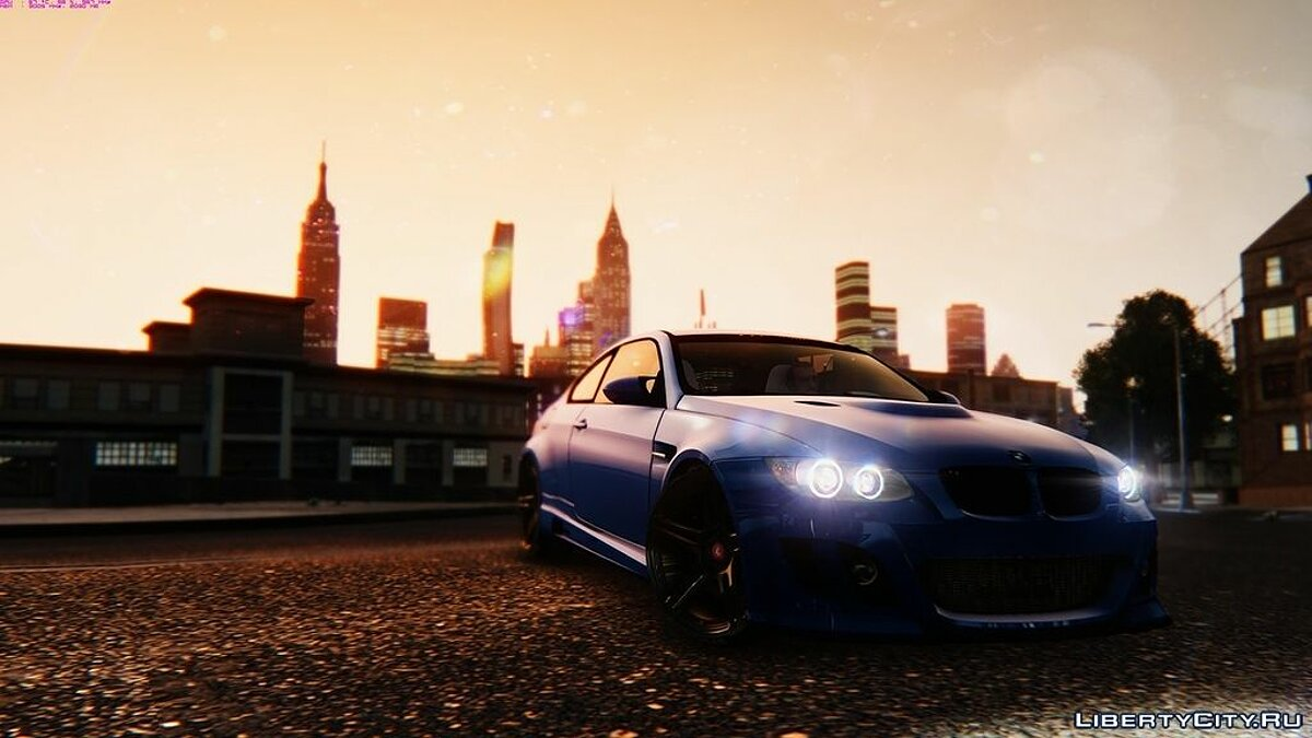 BMW M3 E92 GTS - Widebody для GTA 4 - скриншот #3