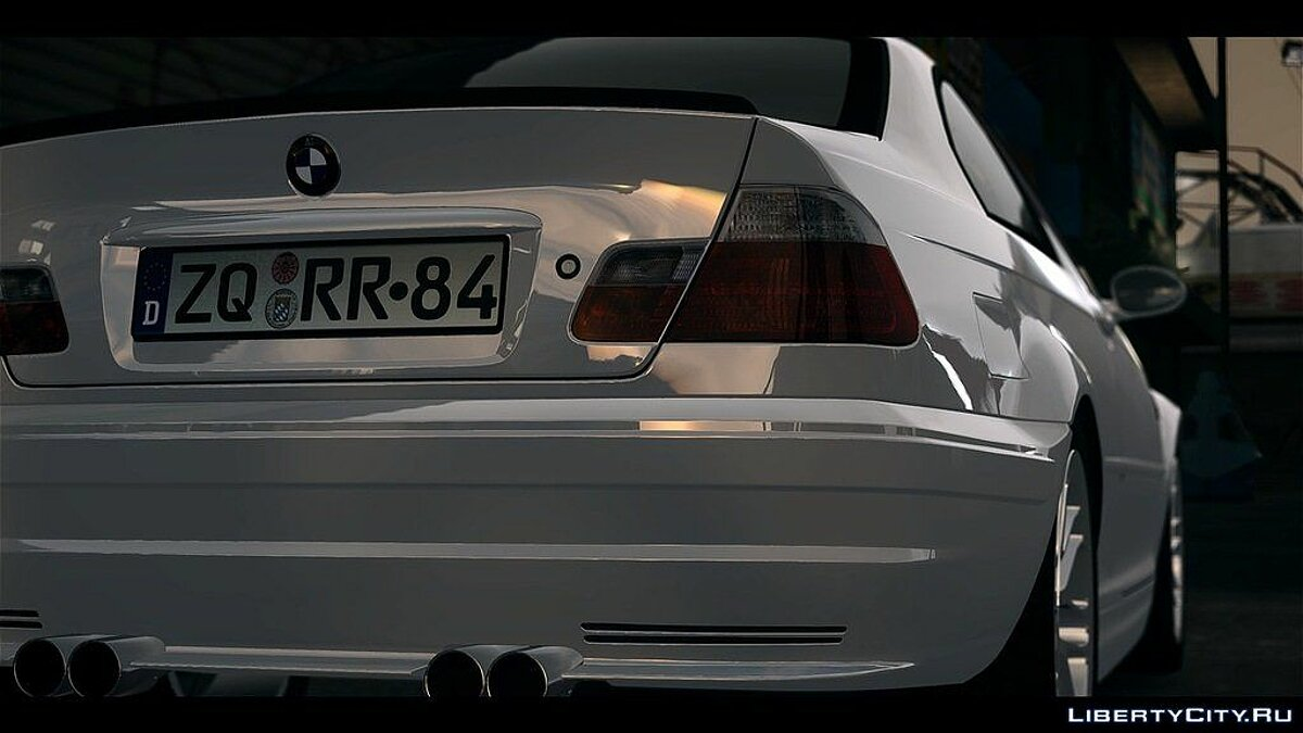 BMW M3 Street Version e46 для GTA 4 - скриншот #3