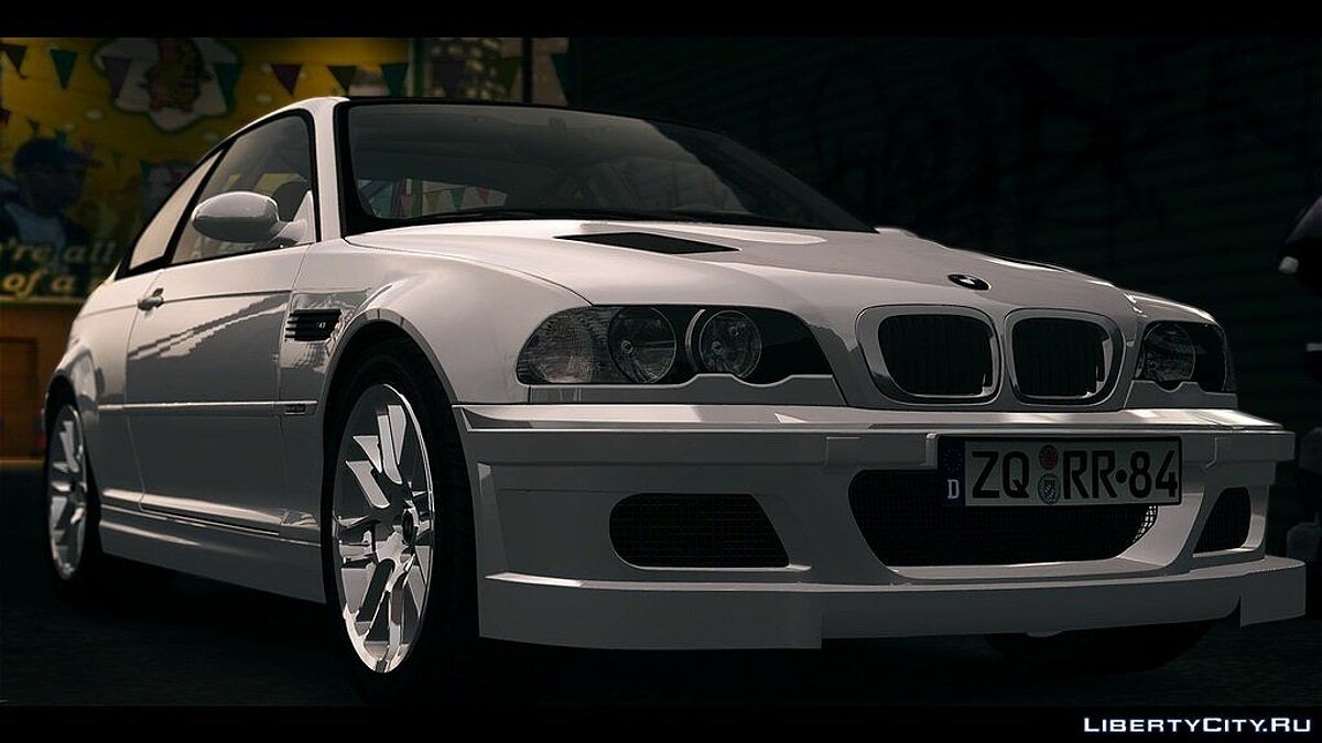 BMW M3 Street Version e46 для GTA 4 - скриншот #2