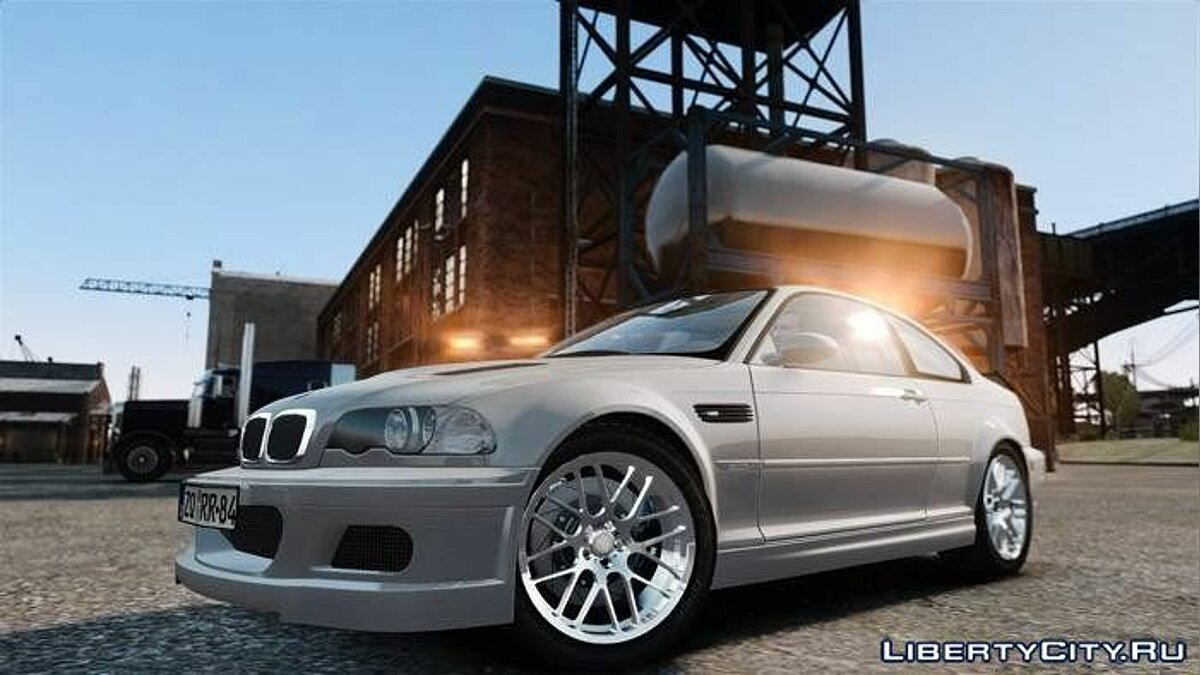 BMW M3 Street Version e46 для GTA 4
