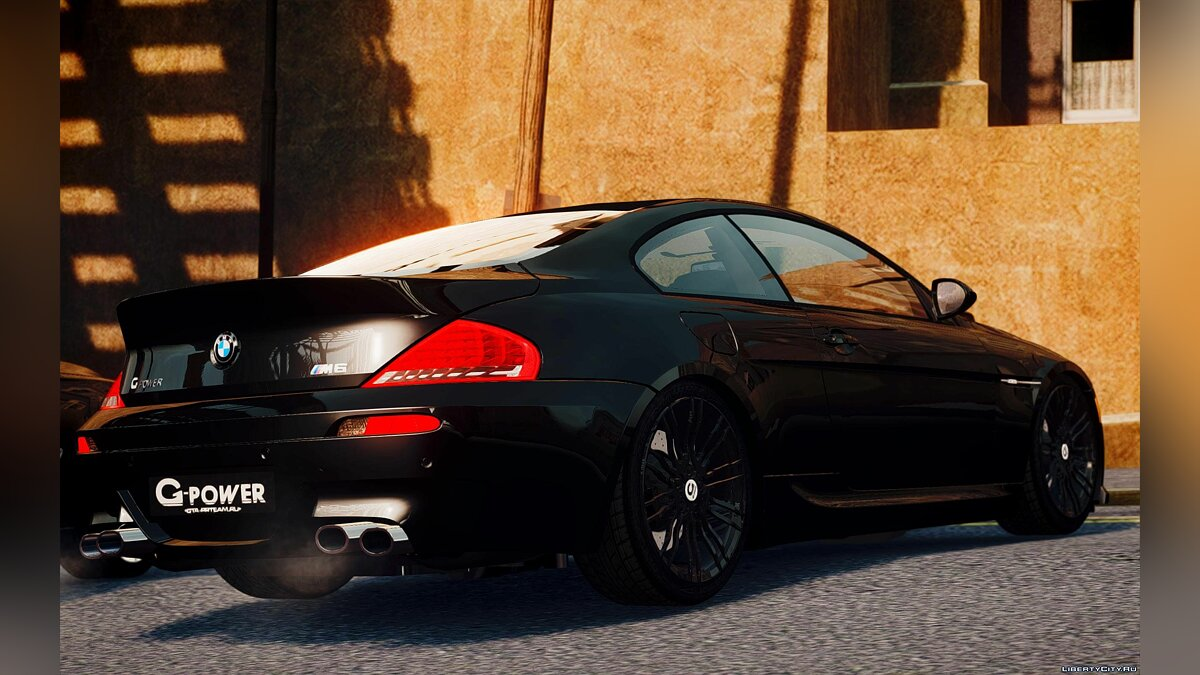 BMW M6 G-Power Hurricane RR для GTA 4 - скриншот #3