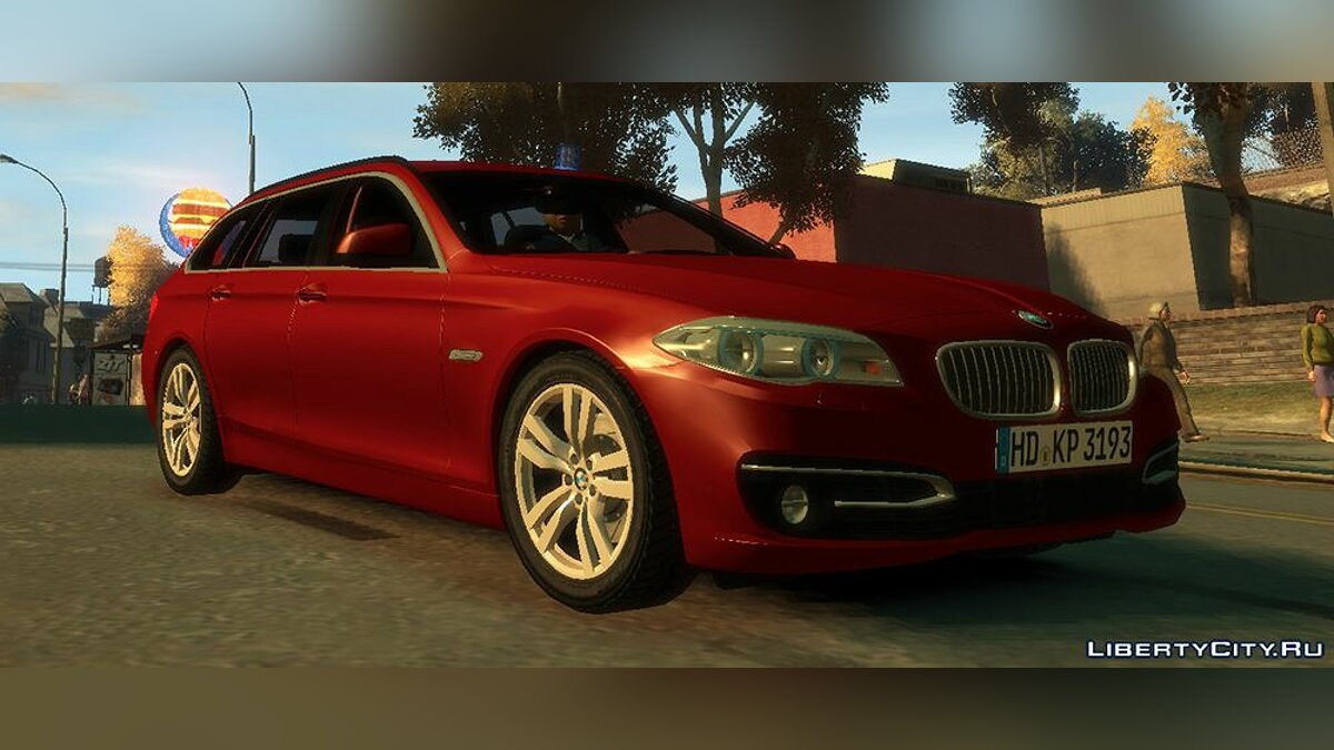Машина BMW BMW 530D Facelift Touring 2014 для GTA 4