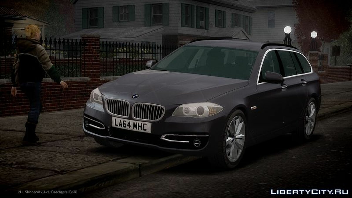 2014 BMW 525D F11 'Facelift' Civilian для GTA 4
