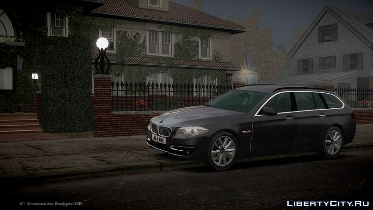 2014 BMW 525D F11 'Facelift' Civilian для GTA 4 - скриншот #3