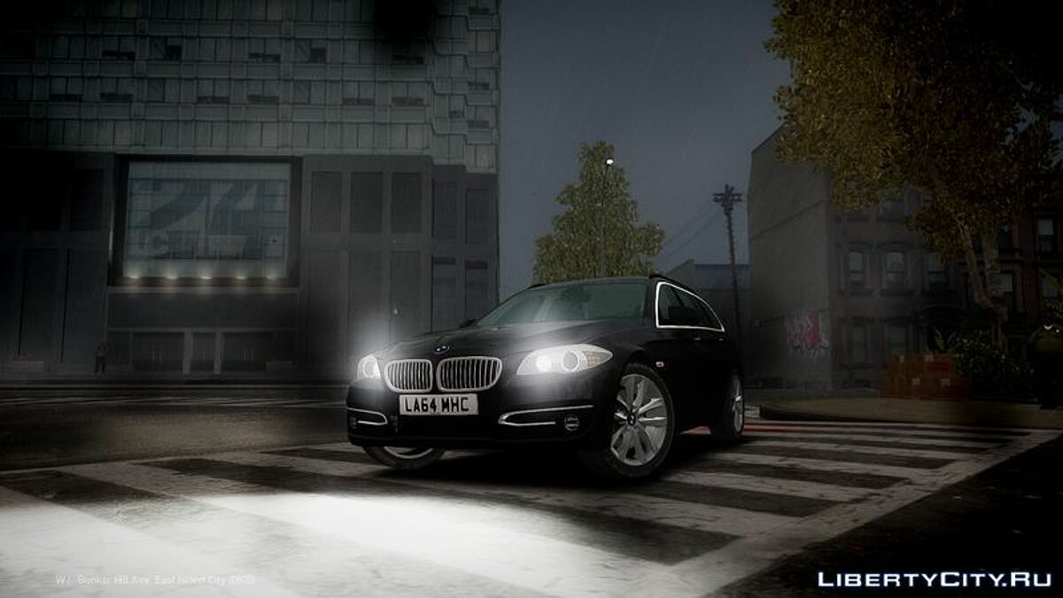 2014 BMW 525D F11 'Facelift' Civilian для GTA 4 - скриншот #2