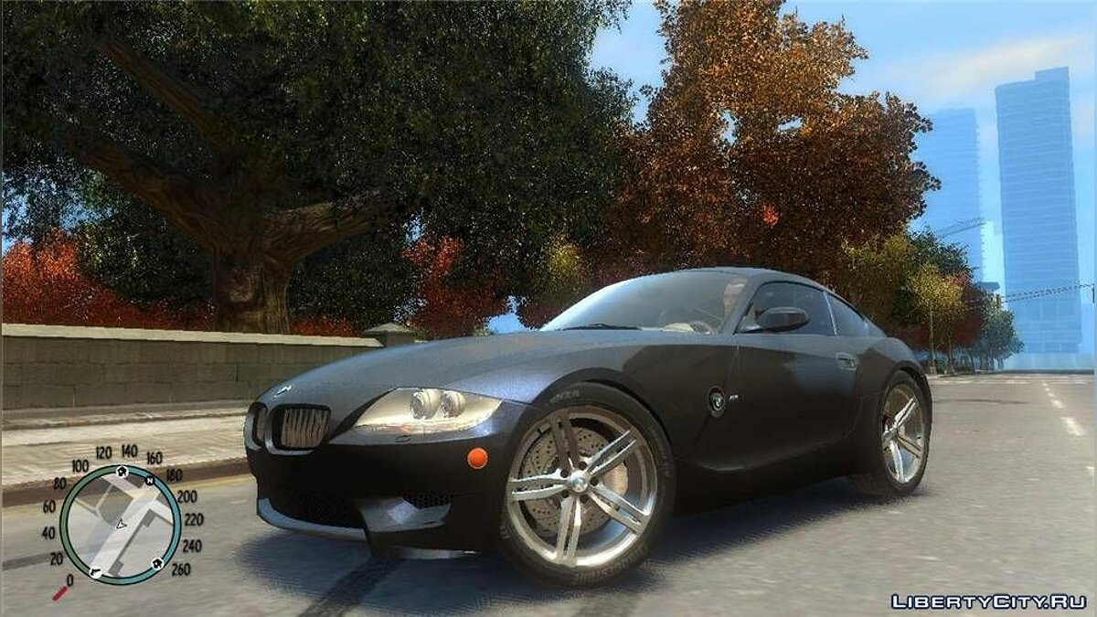 Машина BMW BMW Z4 Coupe v3.5 для GTA 4
