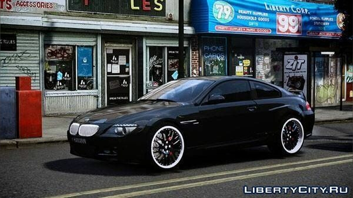 Hamann BMW 6-Series Widebody v2.0 для GTA 4 - скриншот #2