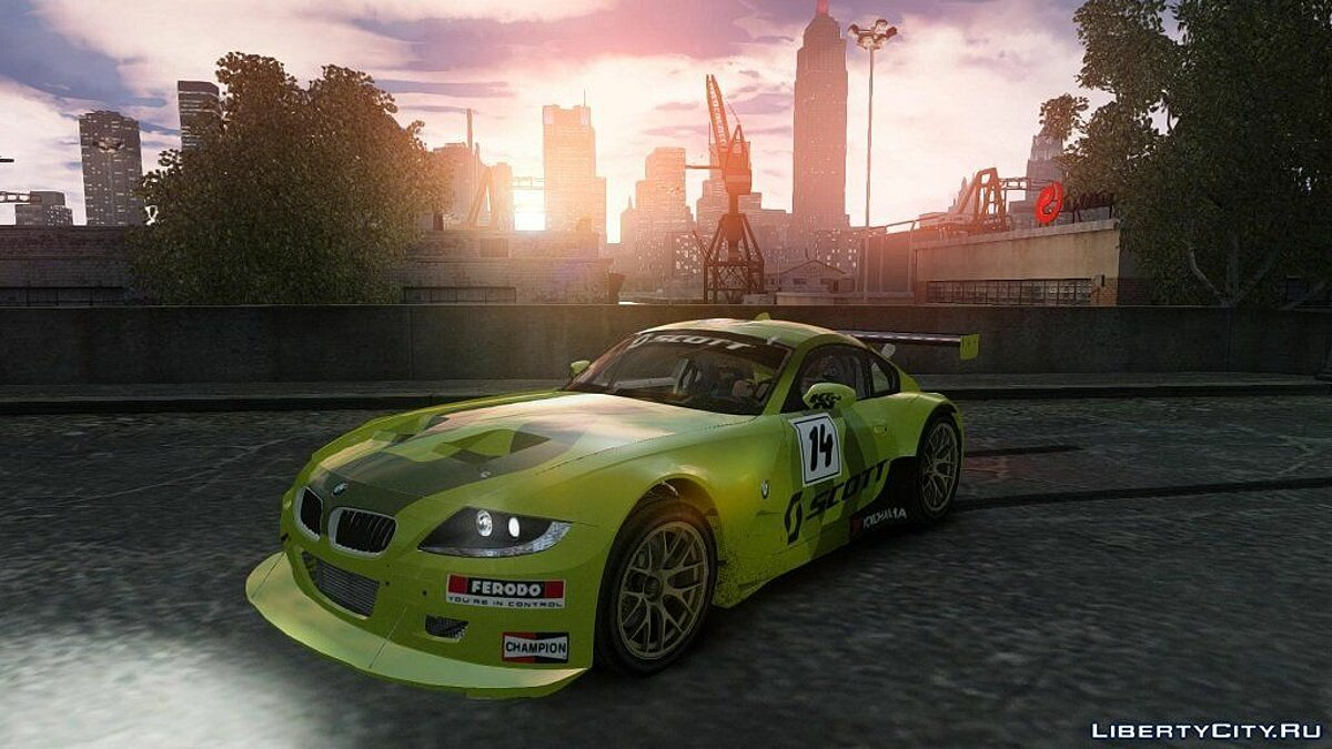 BMW Z4 M Coupe Motorsport DiRT3 для GTA 4