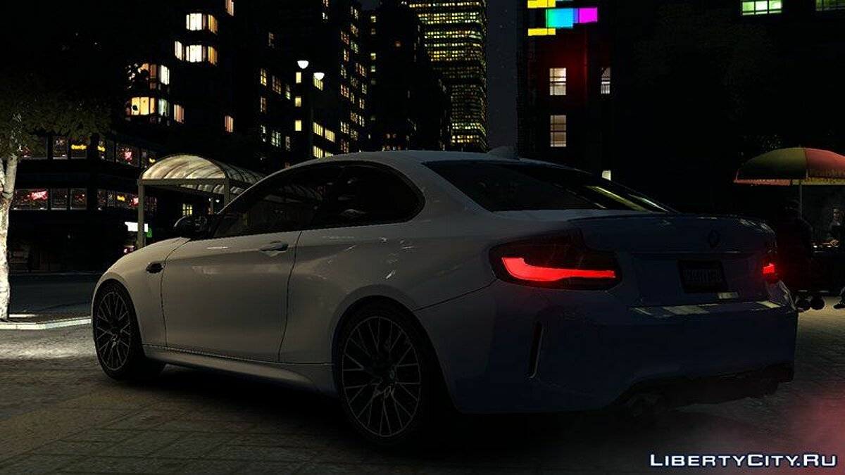 Машина BMW 2018 BMW M2 Competition v1.0 для GTA 4
