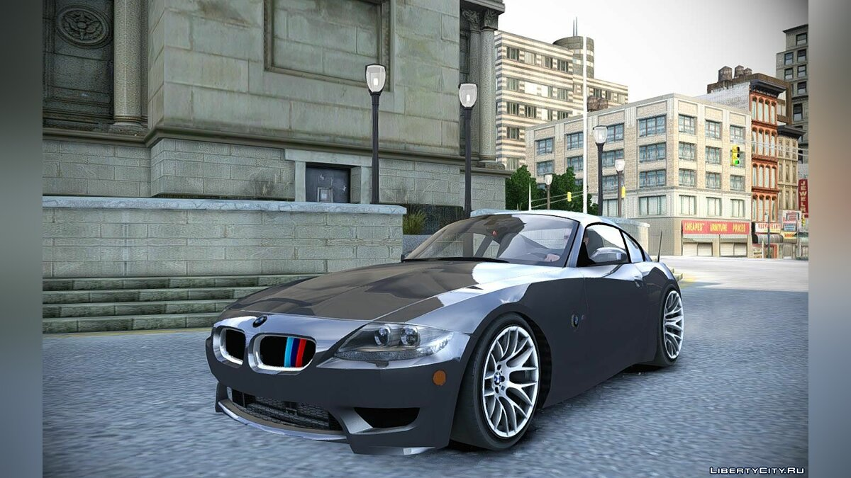 BMW Z4-M Coupe для GTA 4