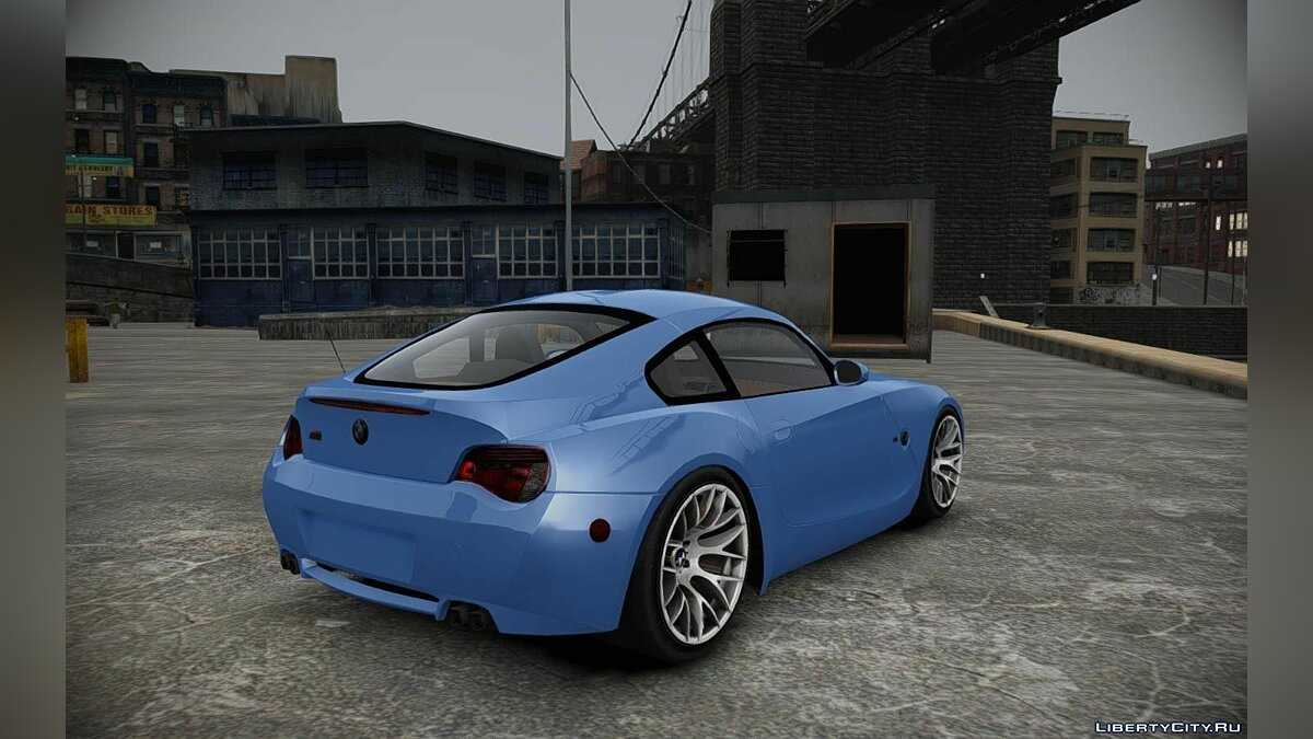 BMW Z4-M Coupe для GTA 4 - скриншот #2