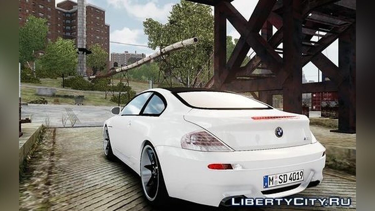 BMW M6 Coupe E63 2010 для GTA 4 - скриншот #3