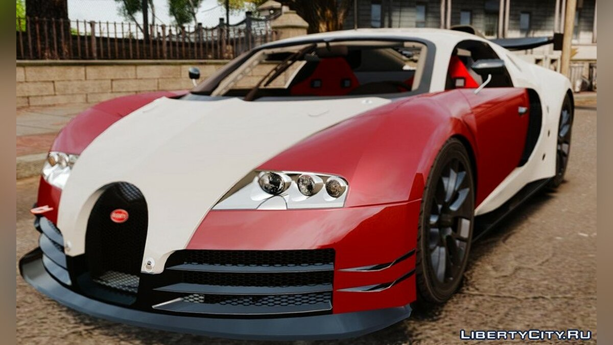 Bugatti Veyron 16.4 Body Kit Final Stock для GTA 4 - Картинка #2