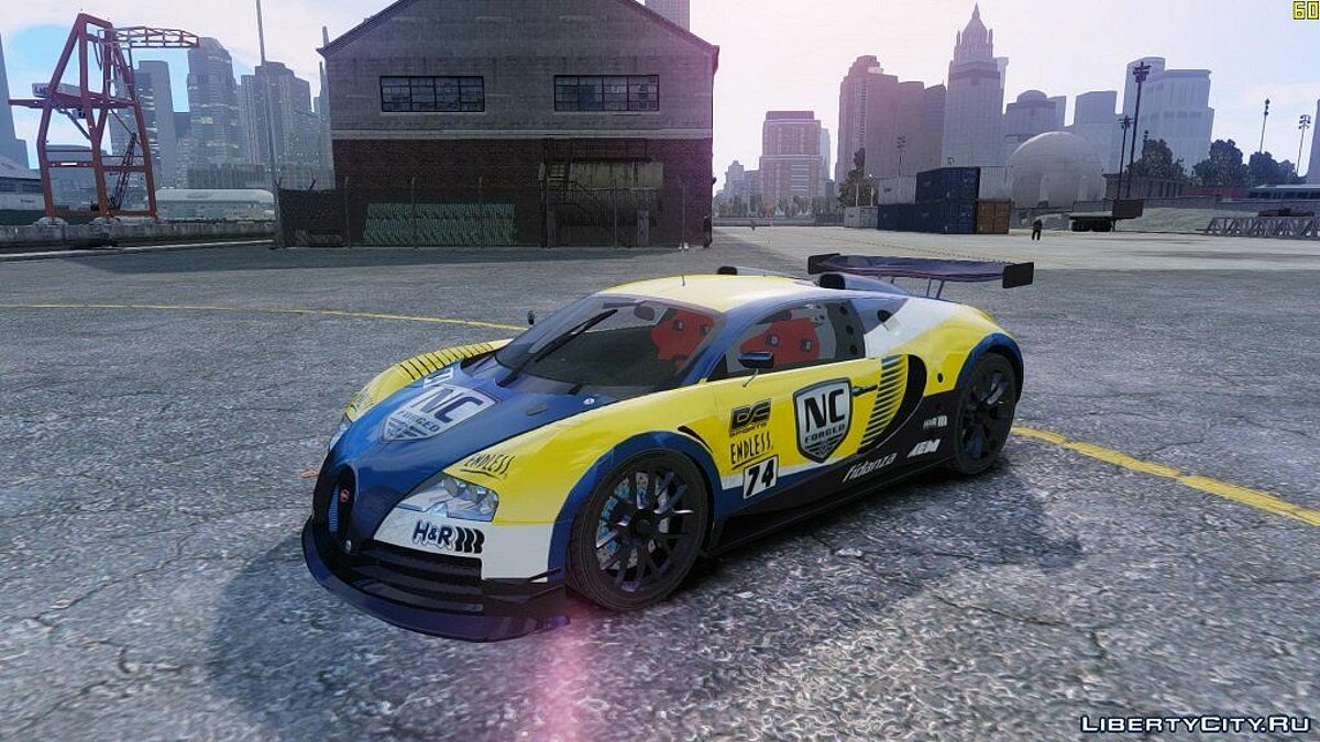 Bugatti Veyron 16.4 Body Kit Final (NFS SHIFT 2) для GTA 4