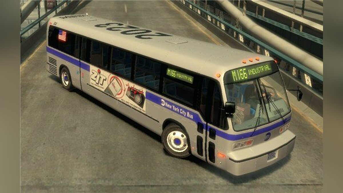 GMC RTS 1988 MTA NYC Bus для GTA 4