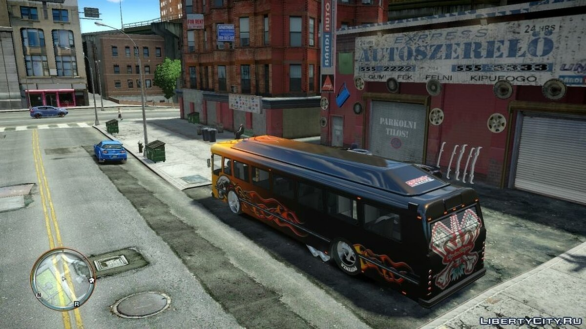 ��втобус Racing Bus [Beta] для GTA 4