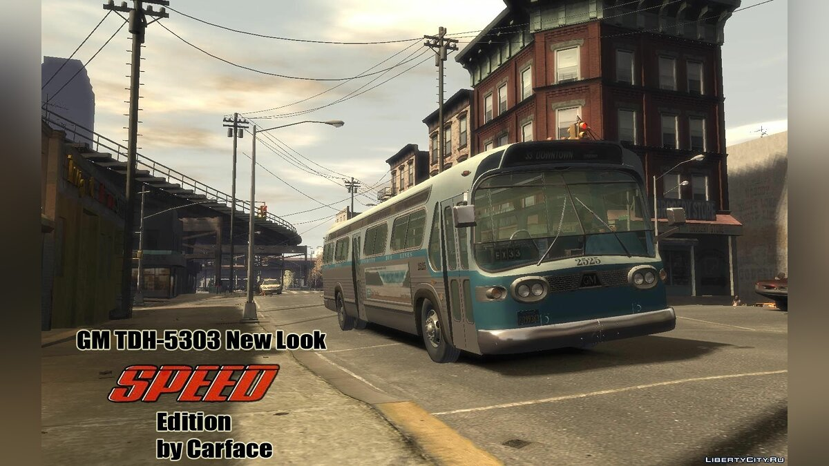 ��втобус GM TDH-5303 SPEED Edition для GTA 4