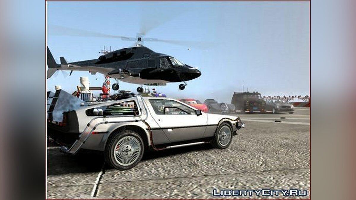 Movie Cars Pack для GTA 4