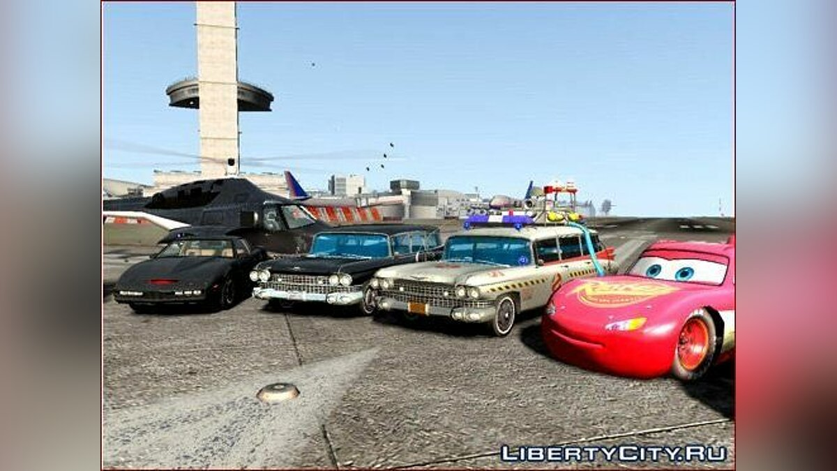 Movie Cars Pack для GTA 4 - скриншот #3