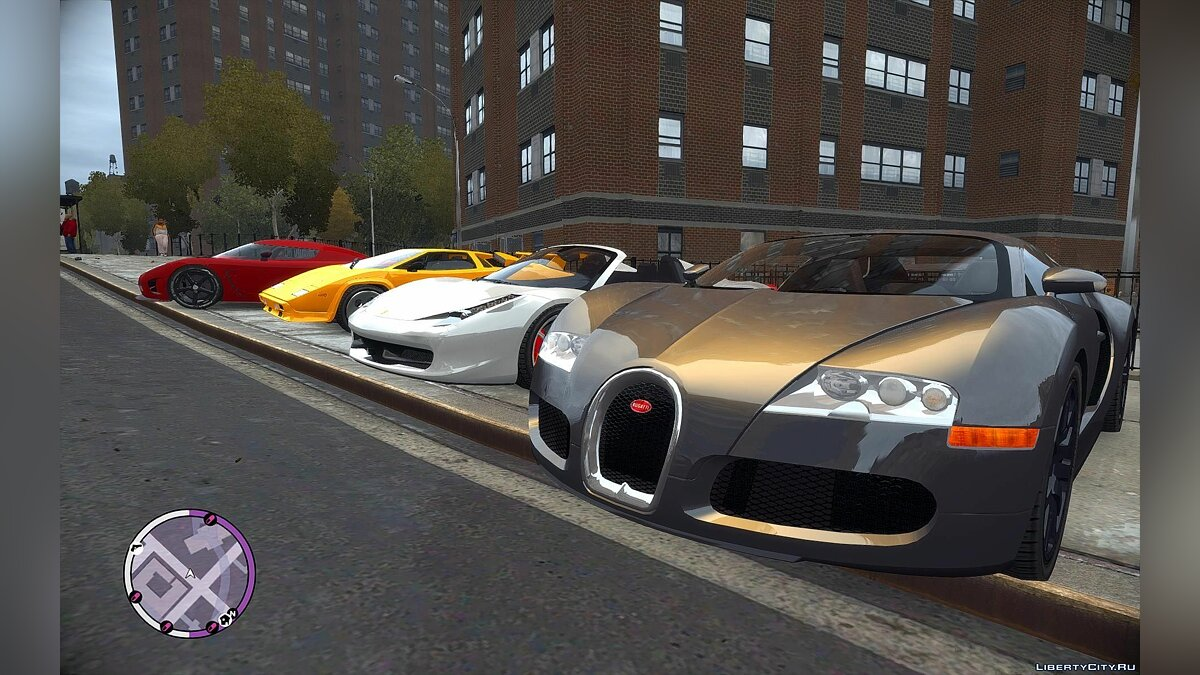 Addedcar EFLC Louping0 21 cars V1 для GTA 4 - скриншот #3