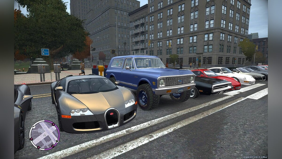 Addedcar EFLC Louping0 21 cars V1 для GTA 4