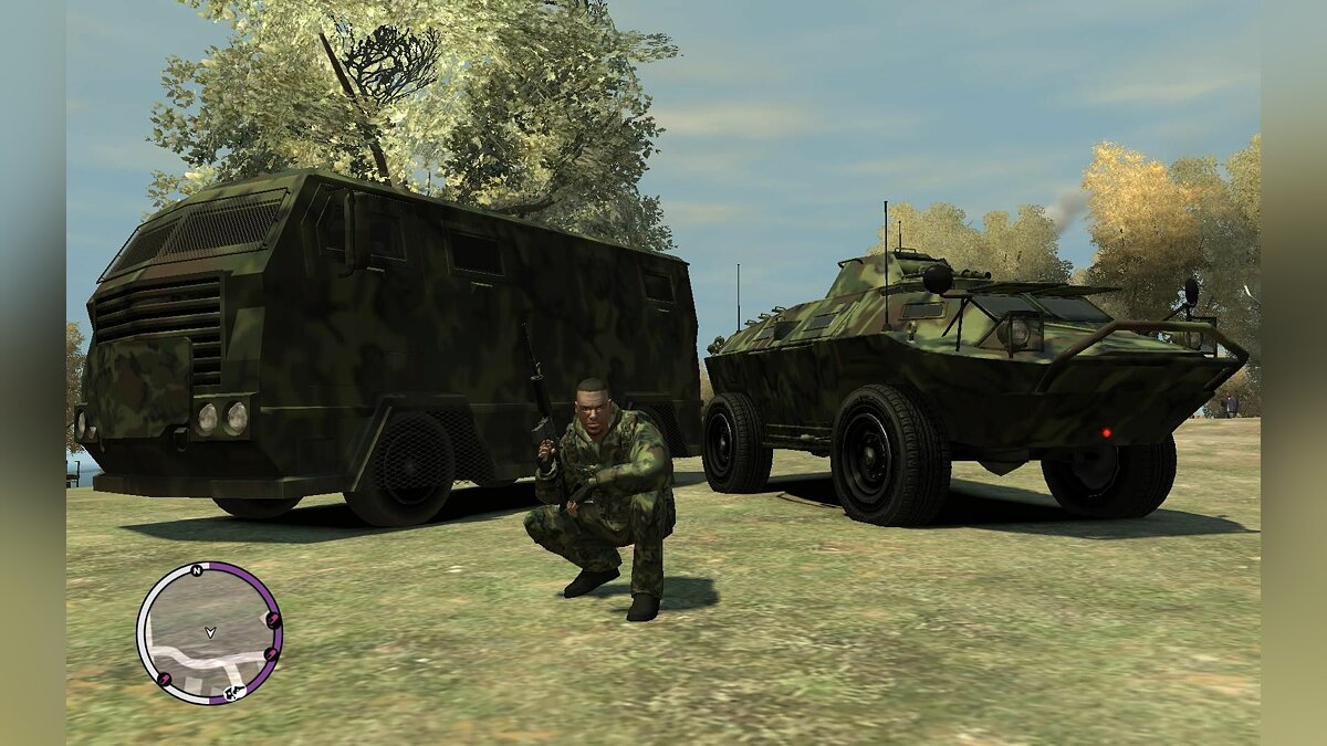 TBOGT Camouflage Pack для GTA 4 - Картинка #1
