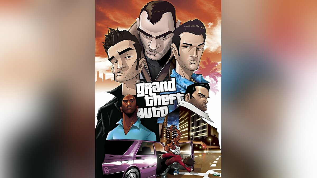Grand Theft Auto 4 New car для GTA 4