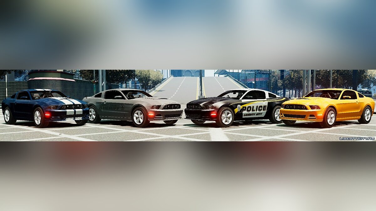 2013 Ford Mustang Police Edition ELS для GTA 4