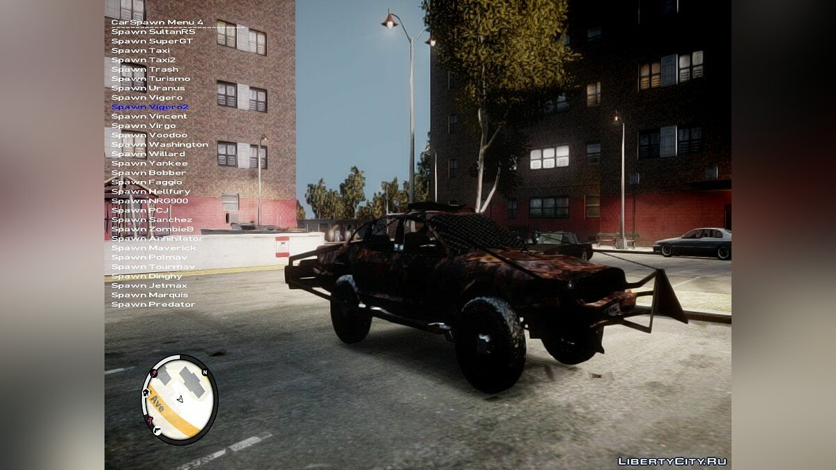 Сборник машин Bad Car Pack 1 для GTA 4