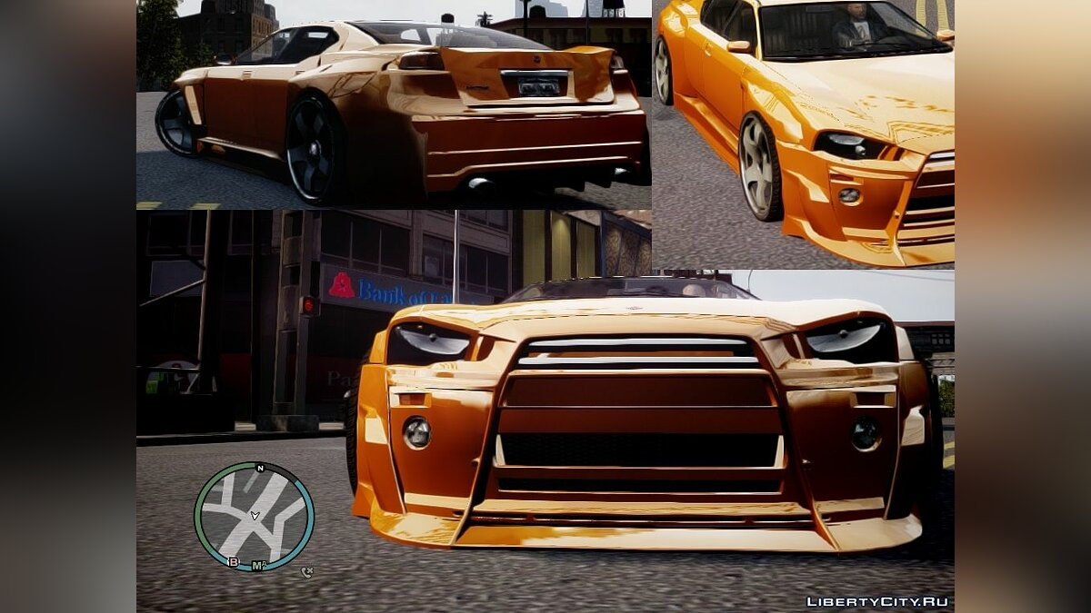 New Style of Old Cars для GTA 4