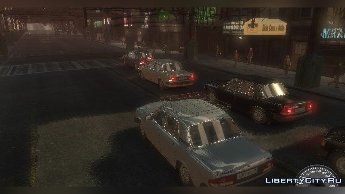 Сборник машин Russian Pack Automobile For GTA IV для GTA 4