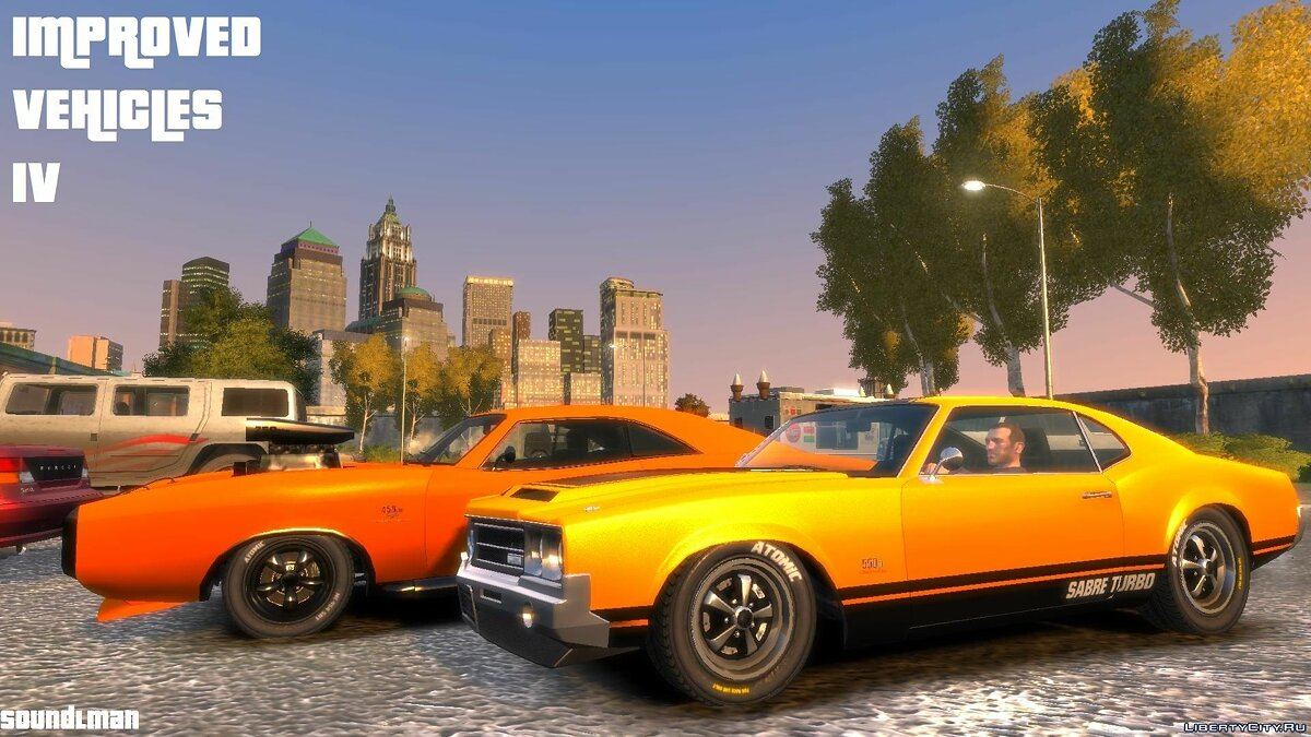 Текстура машины Improved Vehicles IV для GTA 4