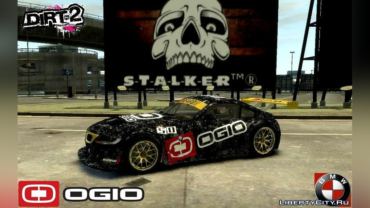 Dirt 2 OGIO Paintjob For Imtaj BMW Z4 для GTA 4