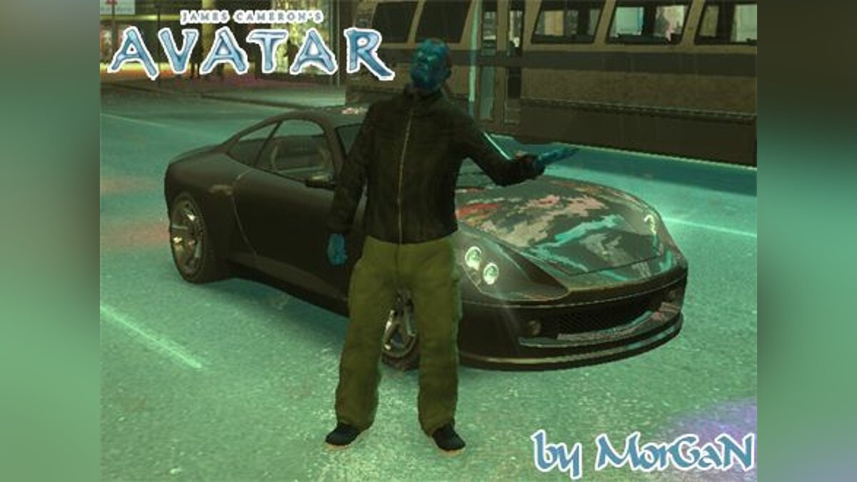 James Cameron's Avatar для GTA 4