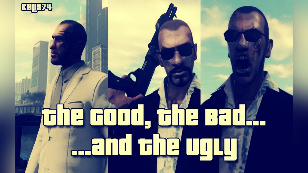 The Good, The Bad and The Ugly Niko для GTA 4