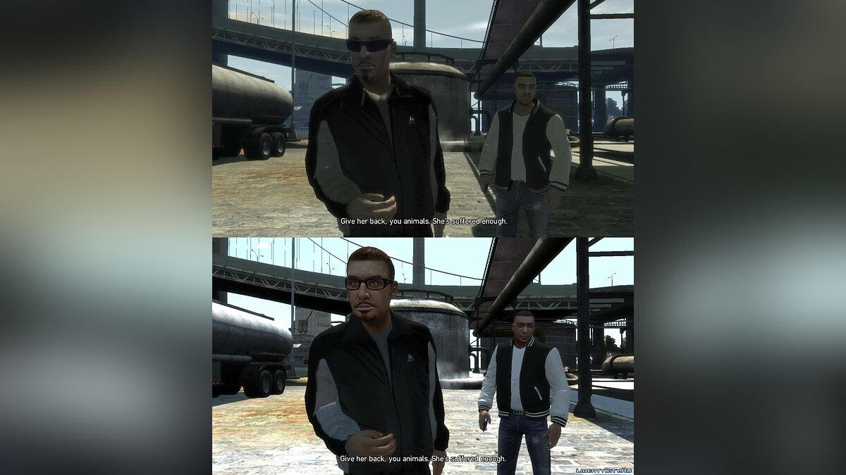 Grand Theft Auto IV Trilogy Characters Fixes v9.0 для GTA 4 - Картинка #9