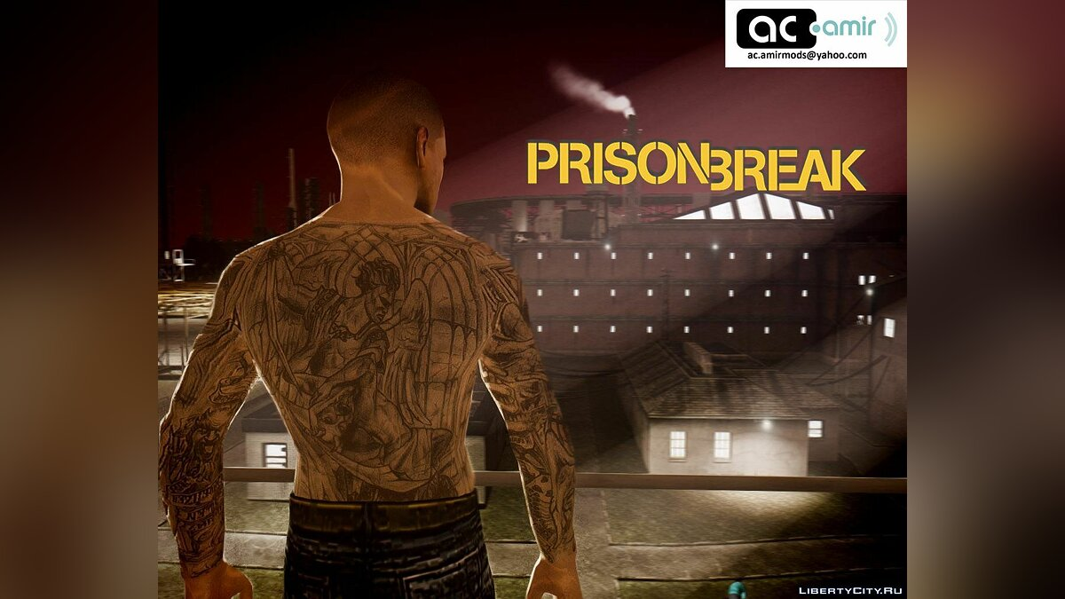 Prison Break Pack для GTA 4