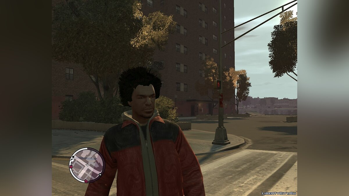 Afro for Luis lopez (GTA:TBOGT) для GTA 4 - скриншот #2