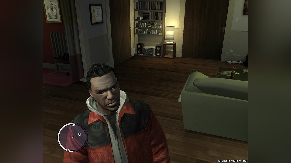 Cornrows for Luis lopez (GTA:TBOGT) для GTA 4 - скриншот #3
