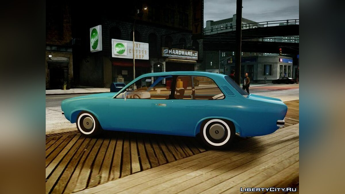Chevrolet Chevette 1976 vs original для GTA 4
