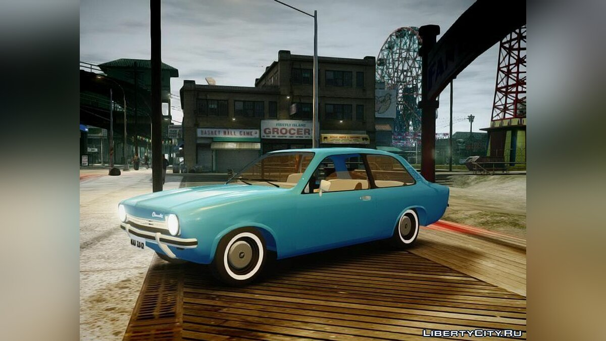 Chevrolet Chevette 1976 vs original для GTA 4 - скриншот #3