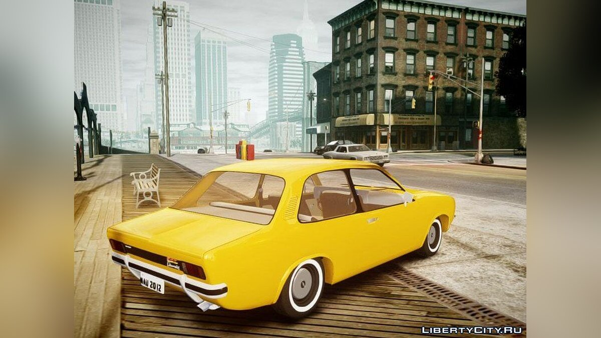 Chevrolet Chevette 1976 vs original для GTA 4 - скриншот #2