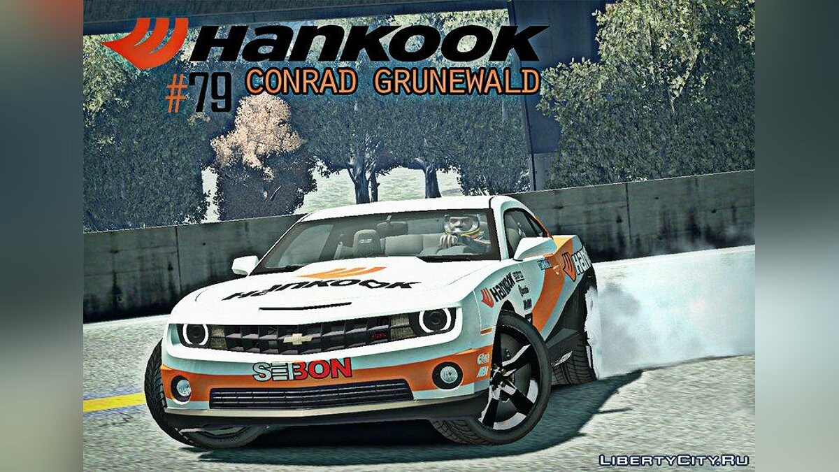 2010 Chevrolet Camaro Hankook Tire  для GTA 4 - Картинка #1