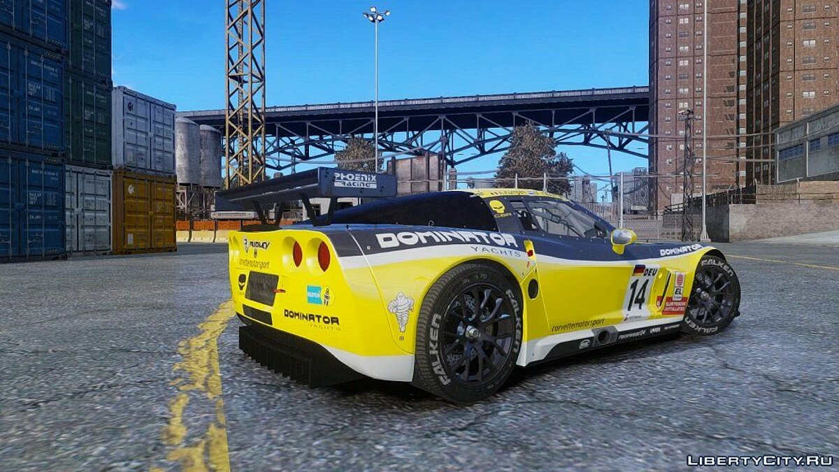 Chevrolet Corvette C6R GT1 (NFS SHIFT 2) для GTA 4 - скриншот #2